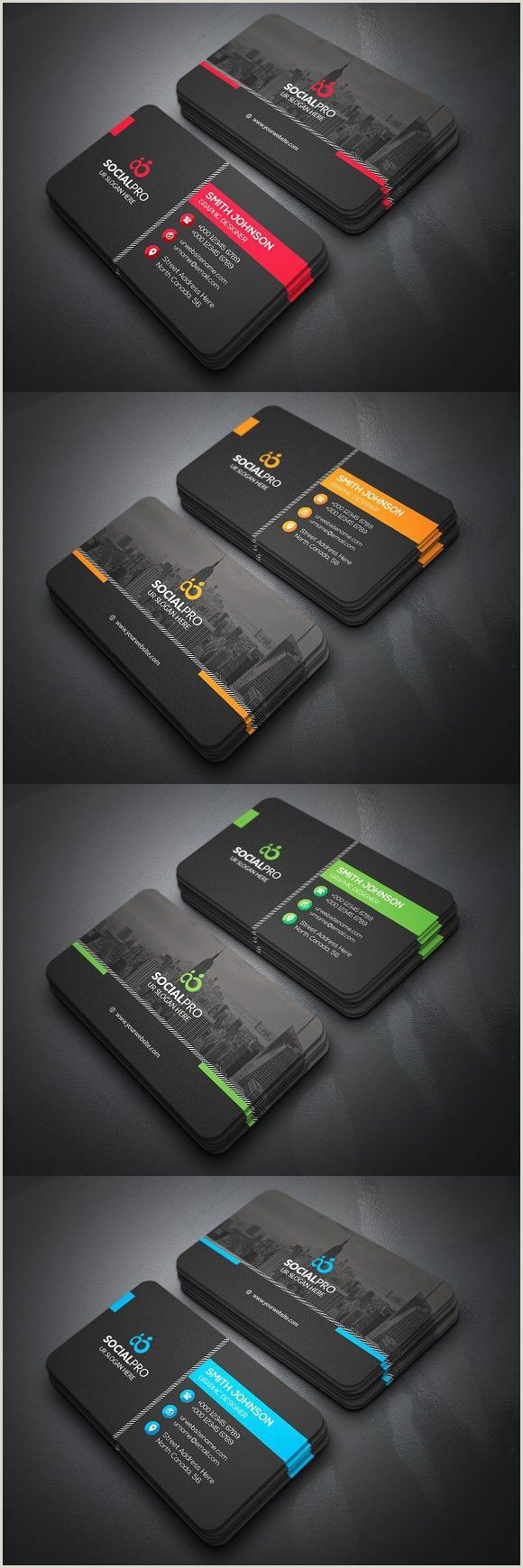 Different Business Card Designs Business Cards Black