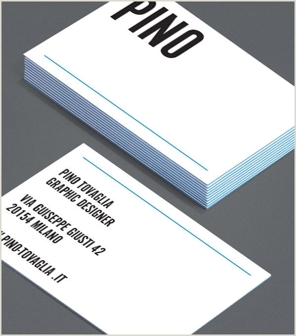 Different Business Cards Pino Tovaglia When You Need A Different Kind Of Cool This