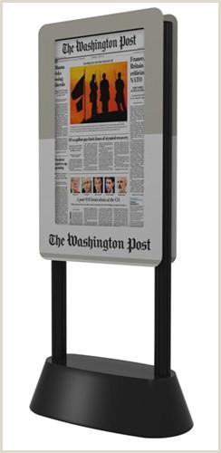 Digital Banner Stand Banner Stands Dbs Digital Banner Stand Monster Displays