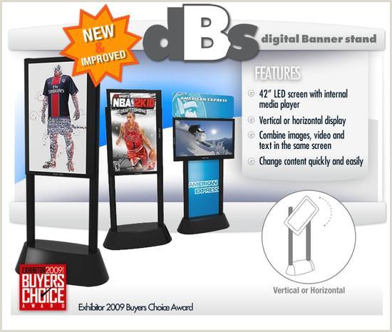Digital Banner Stand Dbs – Digital Banner Stand American Image Displays