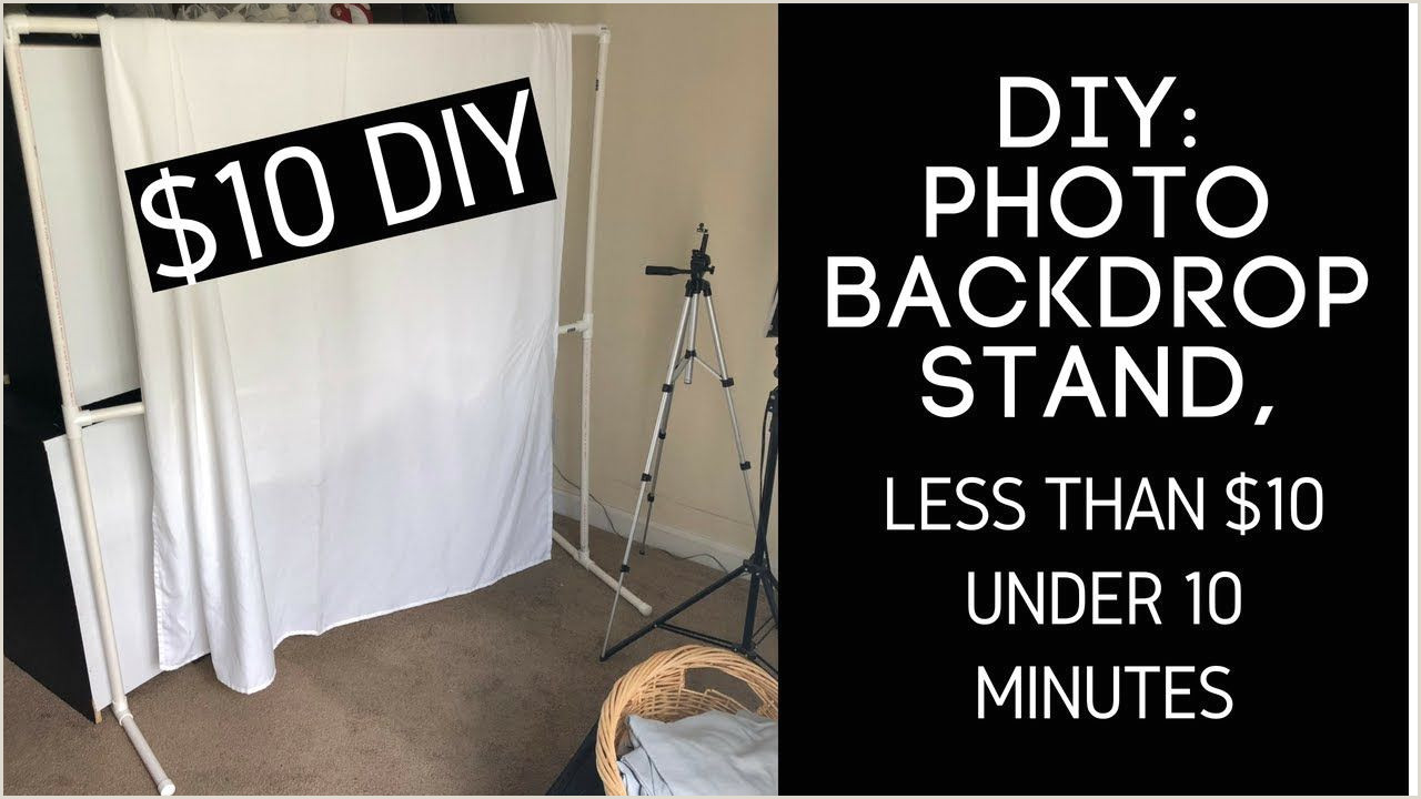 Diy Banner Stand Diy Backdrop Stand Less Than $10 Under 10 Minutes