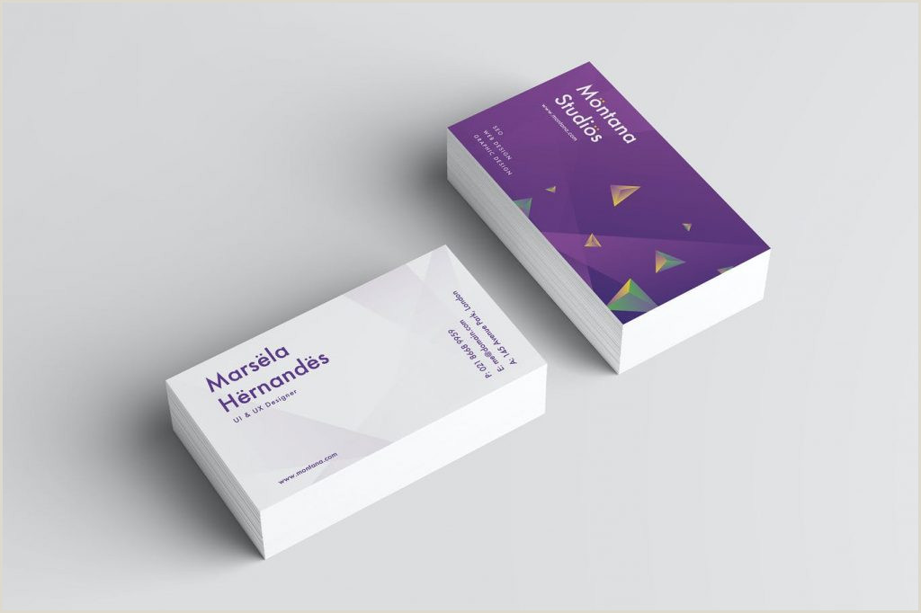 Do Business Cards Work Best Business Card Design 2020 – Think Digital