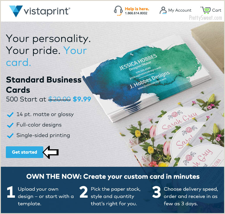 Does Vistaprint Have The Best Business Cards Vistaprint Standard Business Card Reviews Check Out My Cards