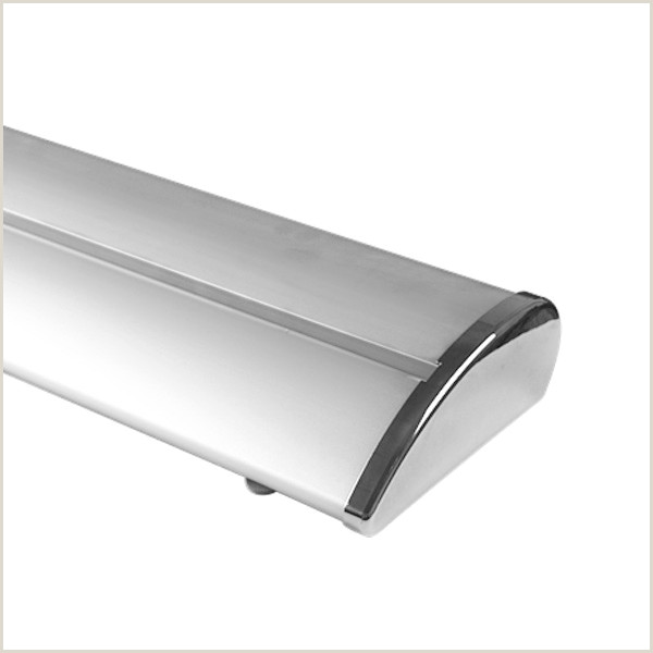 Double Sided Banner Stand Cheap Quotes Wide Base Roll Up Telescopic Banner Stand Factory