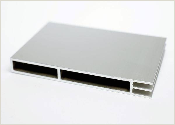 Double Sided Banner Stand Flat Keder Profile Aluminium Double 105x12mm