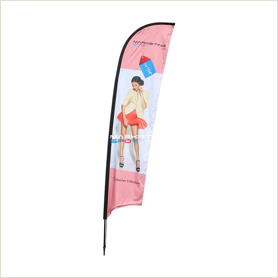 Double Sided Banner Stand Flying Banner S Medium Double Sided 3 85m