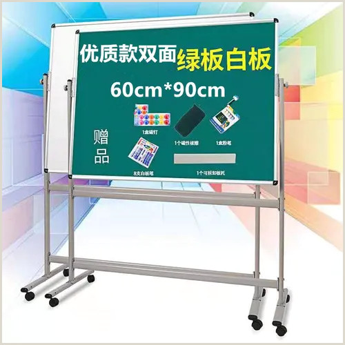 Double Sided Banner Stand Yawen Double Sided Magnetic Whiteboard Mobile Whiteboard Bracket Whiteboard Blackboard Office Whiteboard Training Blackboard Vova