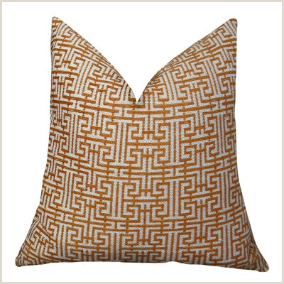 Double Sided Pop Up Banner Geometric Greek Trellis Double Sided Pillow Thomas