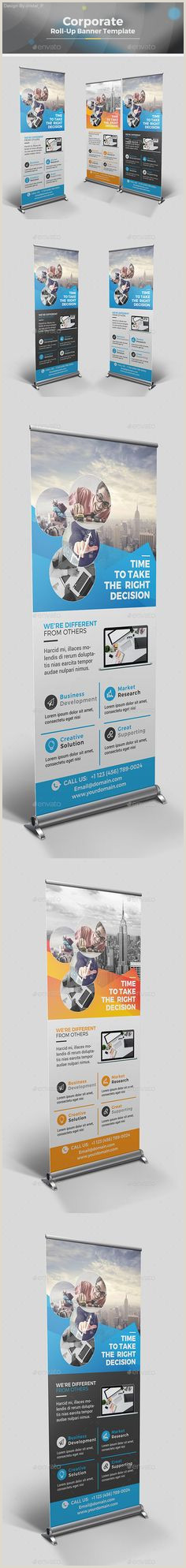 Double Sided Pop Up Banner Portable Displays