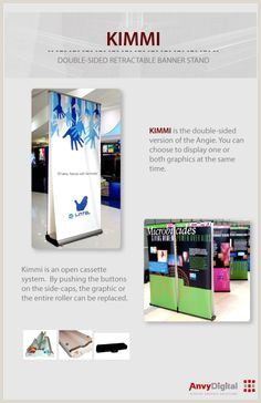 Double Sided Retractable Banner Stand 30 Best Projects & Ideas Banner Stands Images