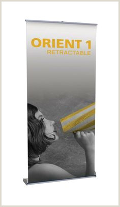 Double Sided Retractable Banner Stand Dps Banners Dpsbanners On Pinterest