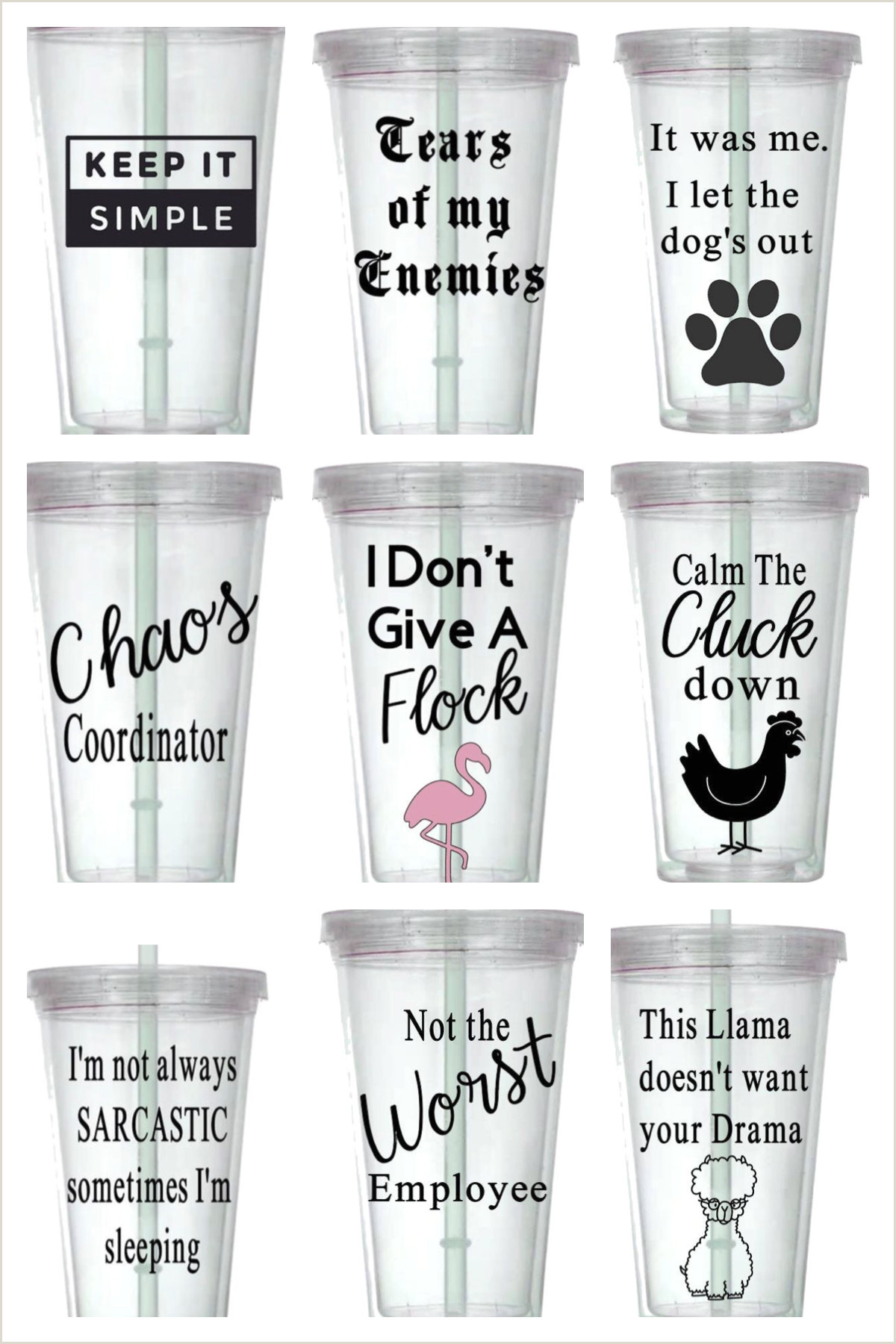 Double T Signs Personalized Tumbler In 2020