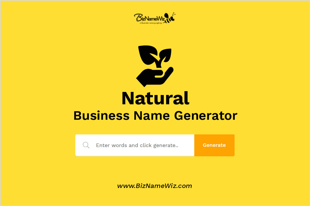 Earthy Business Names 1 000 Natural Business Name Ideas Availability Check