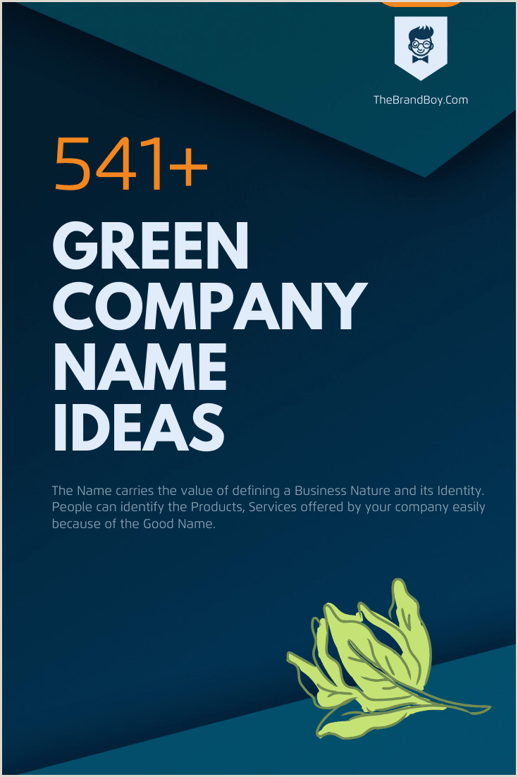 Earthy Business Names 465 Best Green Pany Name Ideas Ever