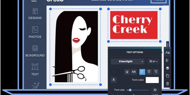 Easy Business Cards Online Design Business Cards — Free Business Card Maker Line