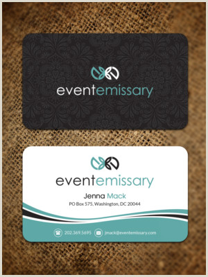 Event Planner Business Card Ideas Event Planning Business Cards
