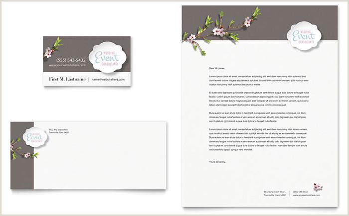 Event Planner Business Card Ideas Wedding & Event Planning Business Card Templates & Design