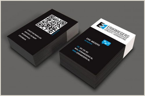 Example Business Card 50 Best Examples Qr Code In Business Card