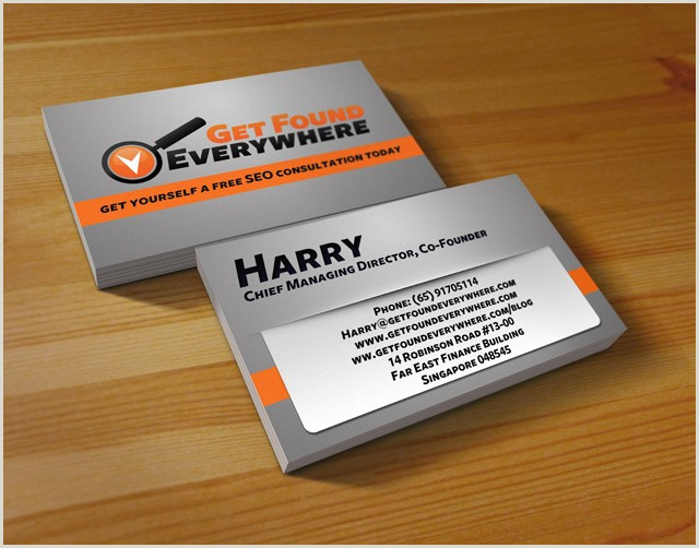 Example Business Card Seo Business Card Samples & Examples Startupguys