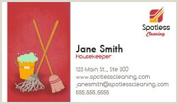 Examples Of Cleaning Business Cards Cleaning Business Cards Design Custom Business Cards For Free