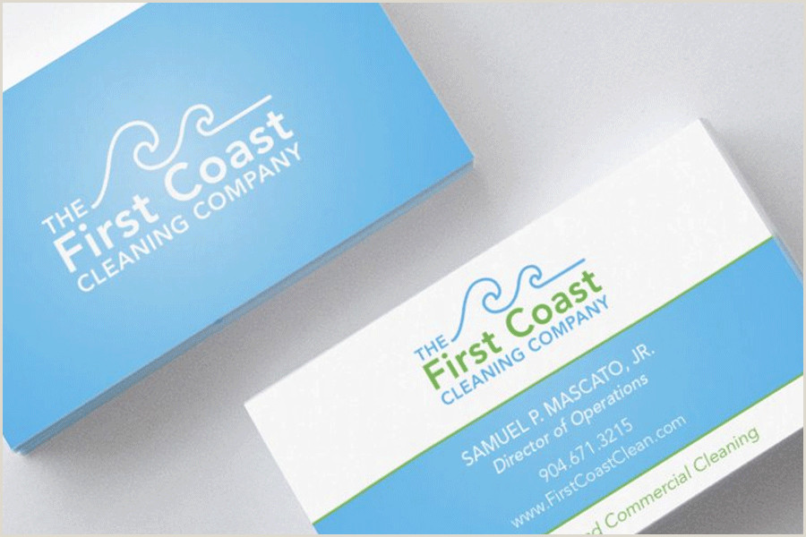 Examples Of Cleaning Business Cards Top 25 Cleaning Service Business Cards From Around The Web