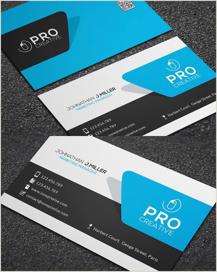Examples Of Good Business Cards 10 Business Cards Template Shop In 2020