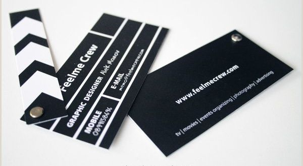 Excellent Business Cards 30 Business Card Design Ideas that Will Get Everyone Talking