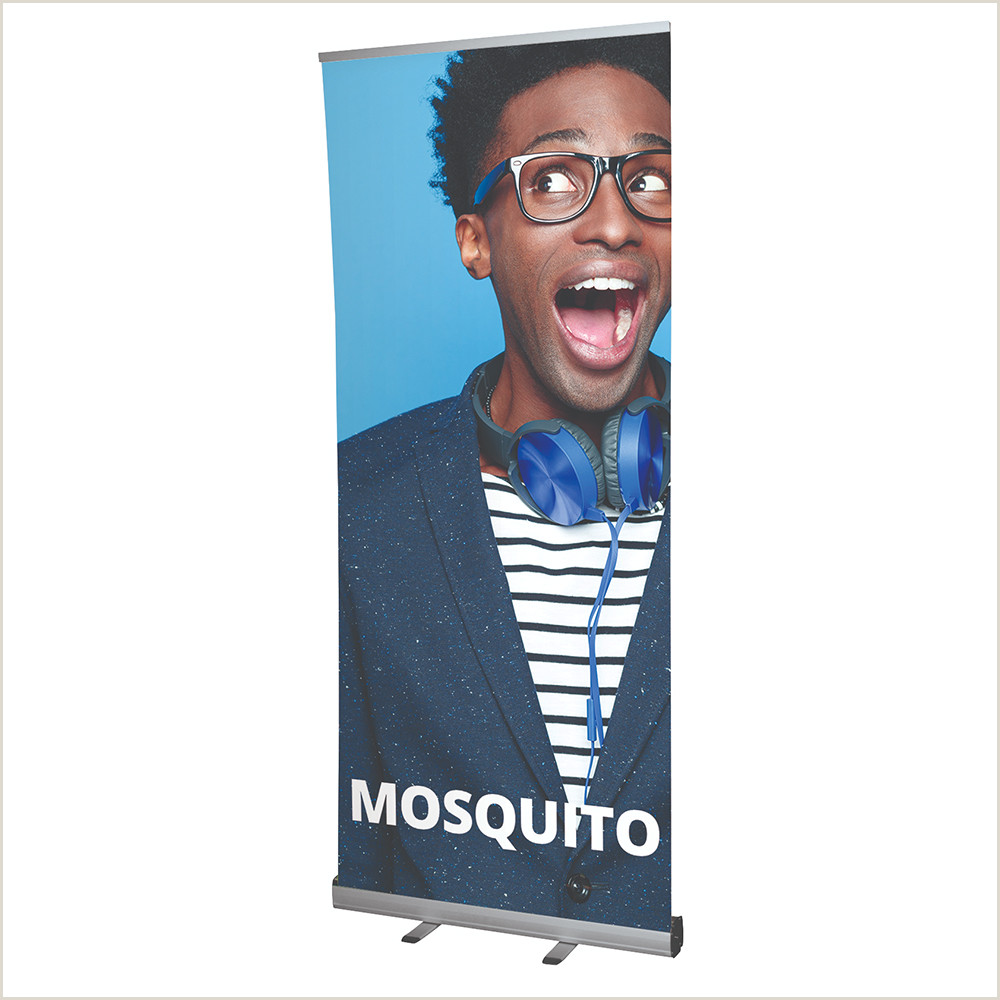 Exhibition Banner Stands 85 X 200 Pop Up Roller Banner Printed Display Exhibition