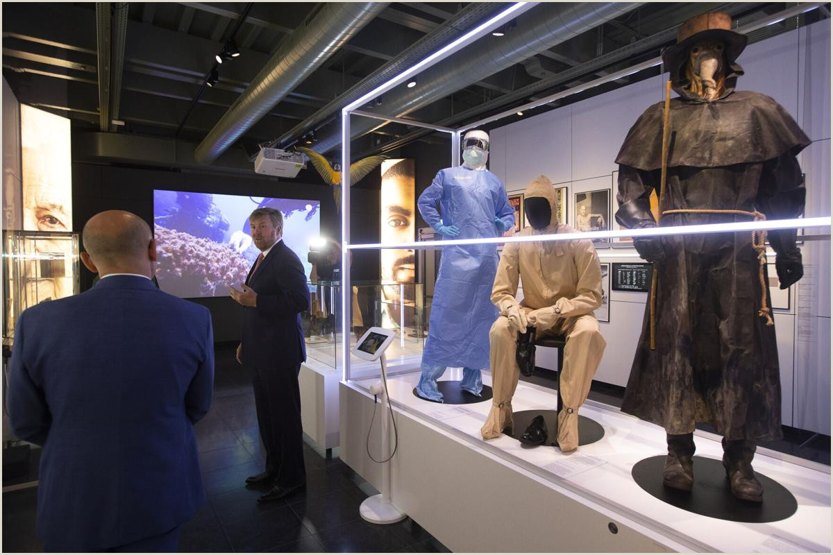 Exhibition Banner Stands Contagious Disease Exhibit Delayed By Pandemic Finally Opens