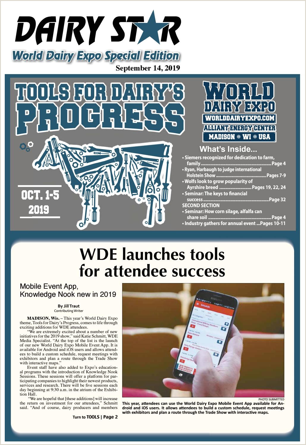 Expox Banner Stand 2019 World Dairy Expo Tab By Dairy Star Issuu