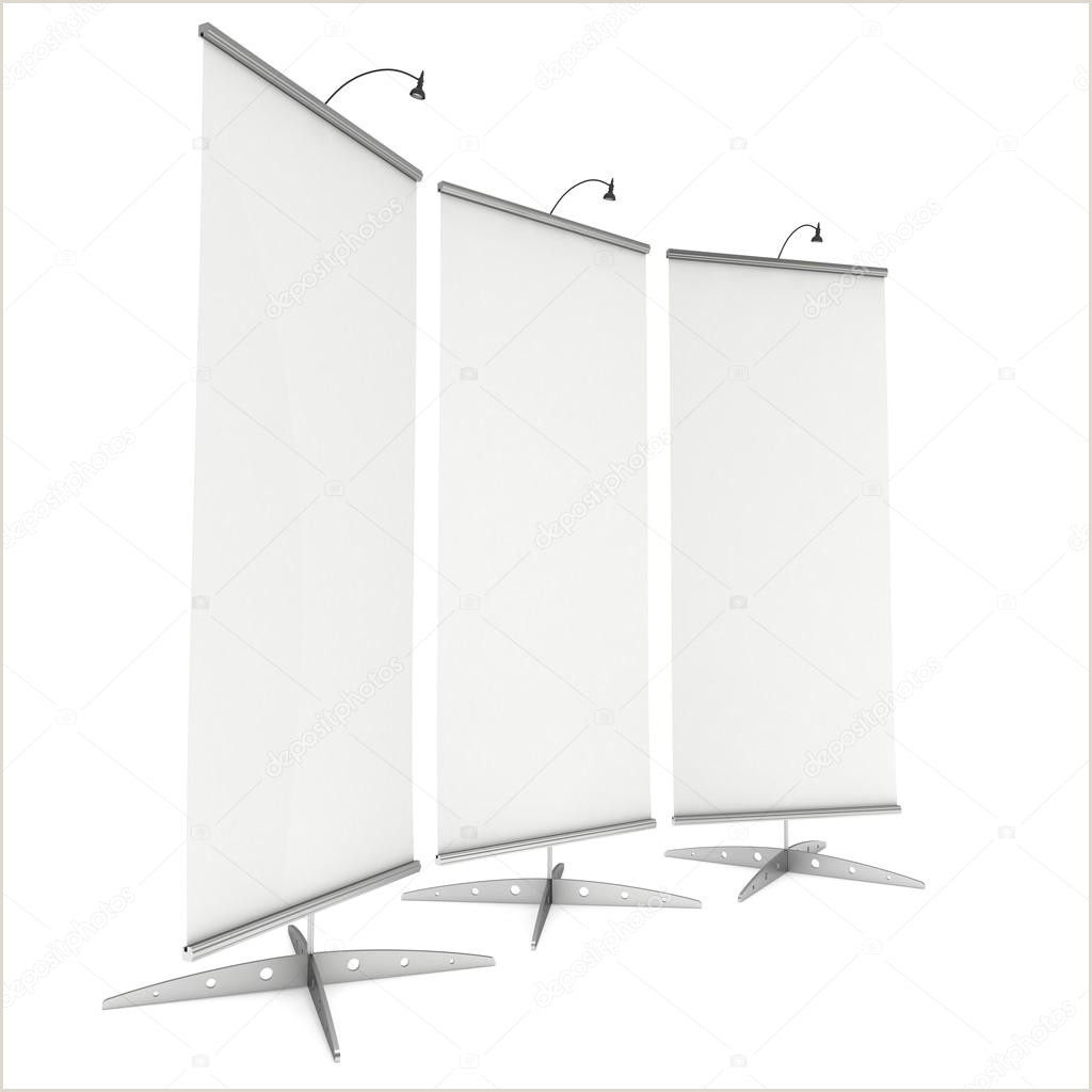 Expox Banner Stand Blank Roll Up Expo Banner Stand