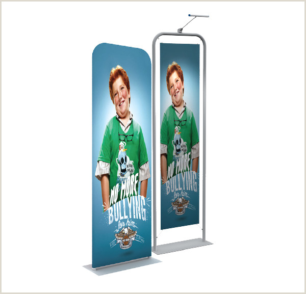 Expox Banner Stand Straight Pop Up Stand 10ft Portable Custom Print Tension