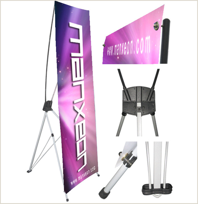 Expox Banner Stand X Stand Display Display System Pop Up Booth Tension
