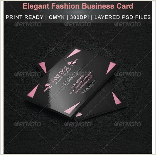 Fashion Business Cards Templates Free 10 Fashion Business Card Template Illustrator Indesign