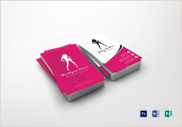 Fashion Business Cards Templates Free 28 Fashion Business Card Templates Ai Word Pages
