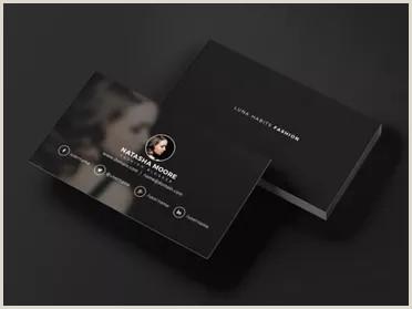 Fashion Business Cards Templates Free 72 Fashion Business Card Templates Free Psd Vector Designs