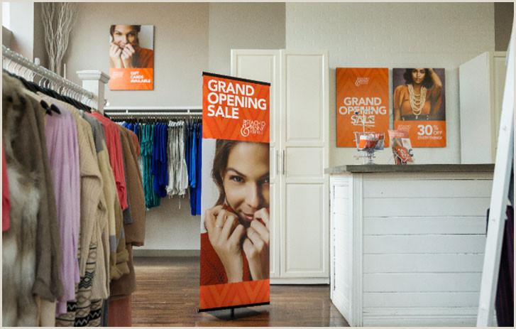 Fedex Office Retractable Banner Banner Printing Custom Banner Printing Line