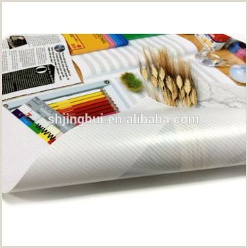Fedex Office Retractable Banner Pvc Interlit Films Can Be Printed And Embossed For Banners