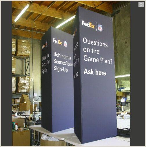 Fedex Office Retractable Banner Vertical Triangular Display