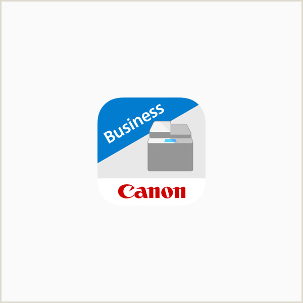 First Class Color Business Cards Canon Print Business On The App Store