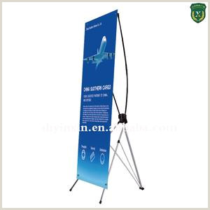 Floor Banner Stand Cost Effective X Banner Stand With Factory Pricing