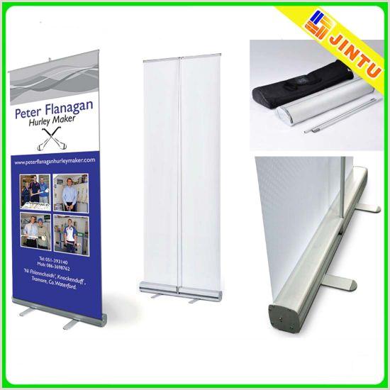 Floor Banner Stand [hot Item] Durable Roller Banner Stand Floor Standing Display
