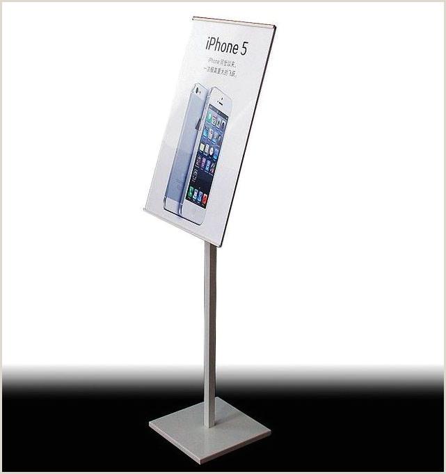 Floor Banner Stands Floor Standing Sign Holders Pop Display Stand Pedestal Floor