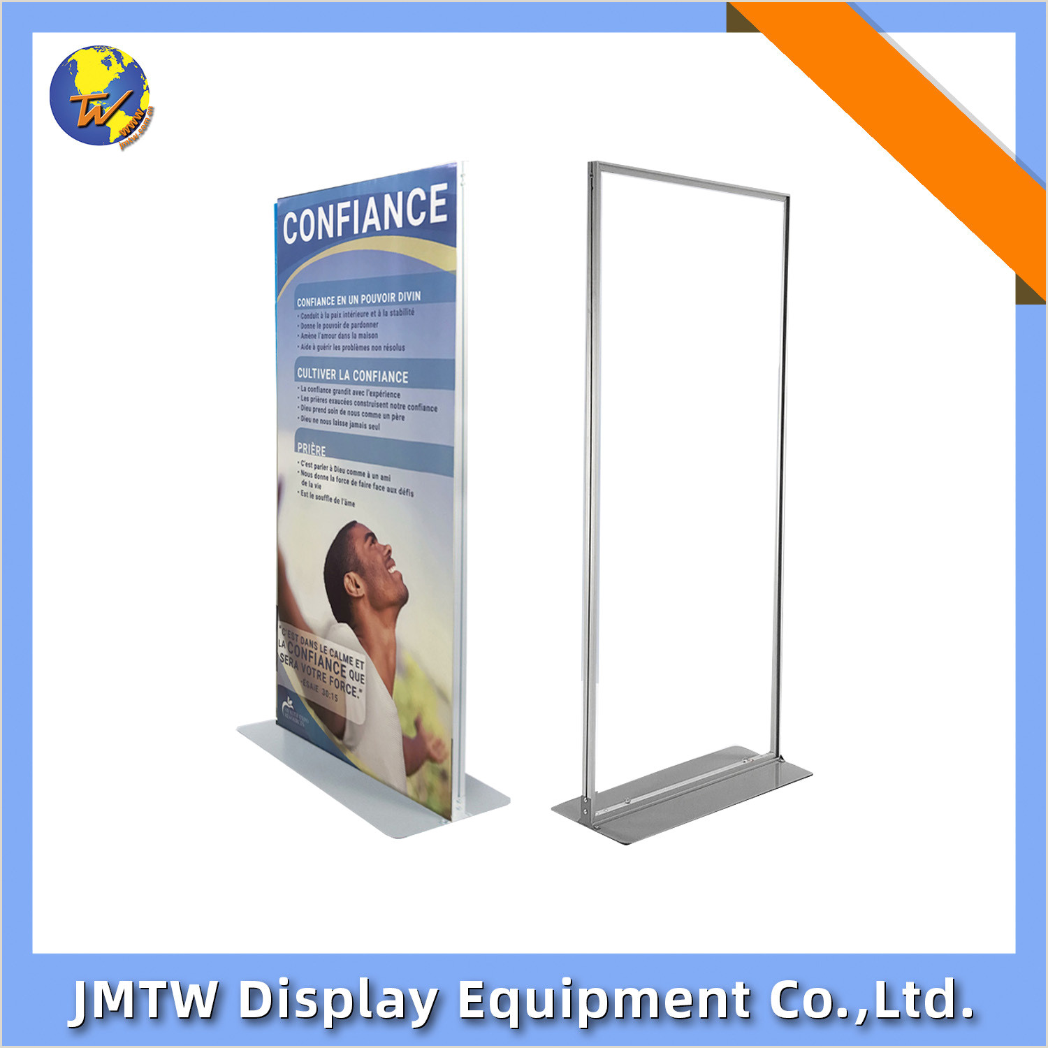 Floor Banner Stands [hot Item] Durable Stable Door Shape Pvc Foam Board Banner Stand For Advertising With Steel Plate Base