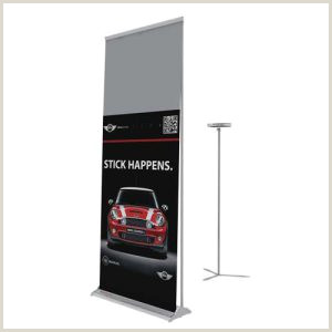 Floor Banners Retractable Full Screen Roll Up Projection Banner Pro Version