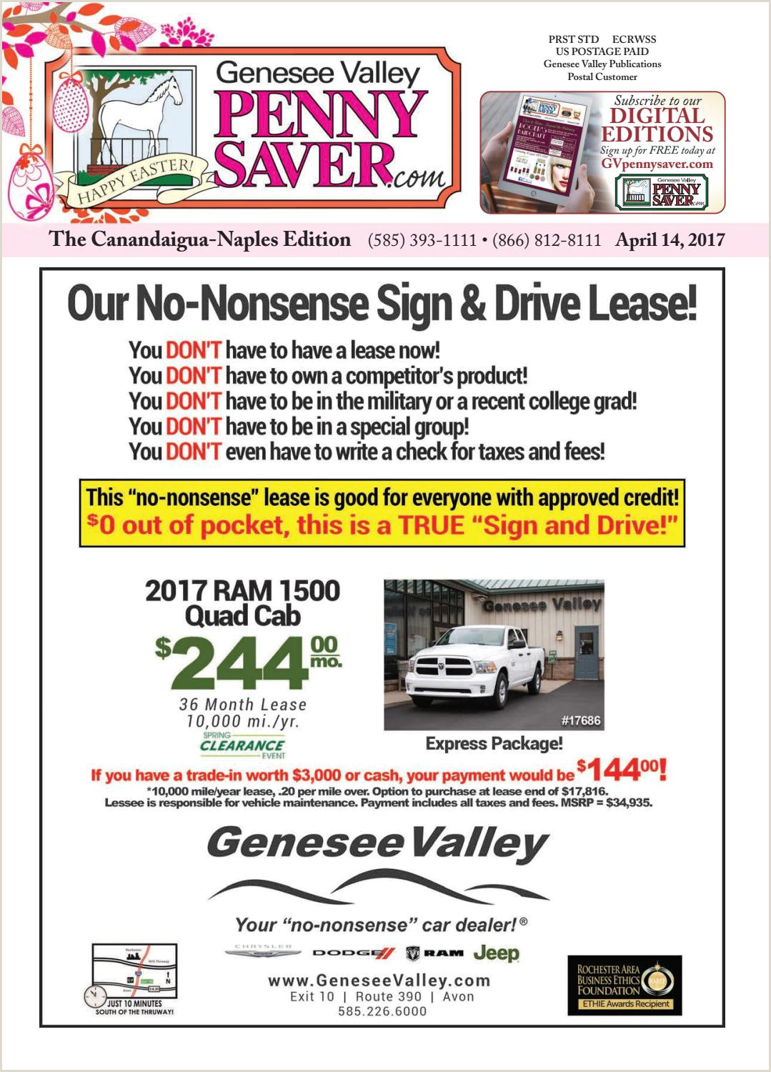 Floor Banners Retractable The Genesee Valley Penny Saver Canandaigua Naples Edition 4