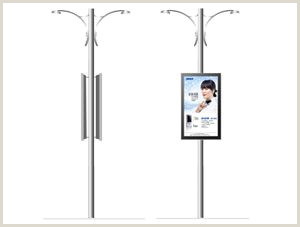 Floor Signs Stands Big Size 65 User Outdoor Digital Signage Floor Stand Lcd
