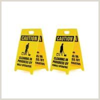 Floor Signs Stands Built To Last For All Hazards Low Cost Floor Stands
