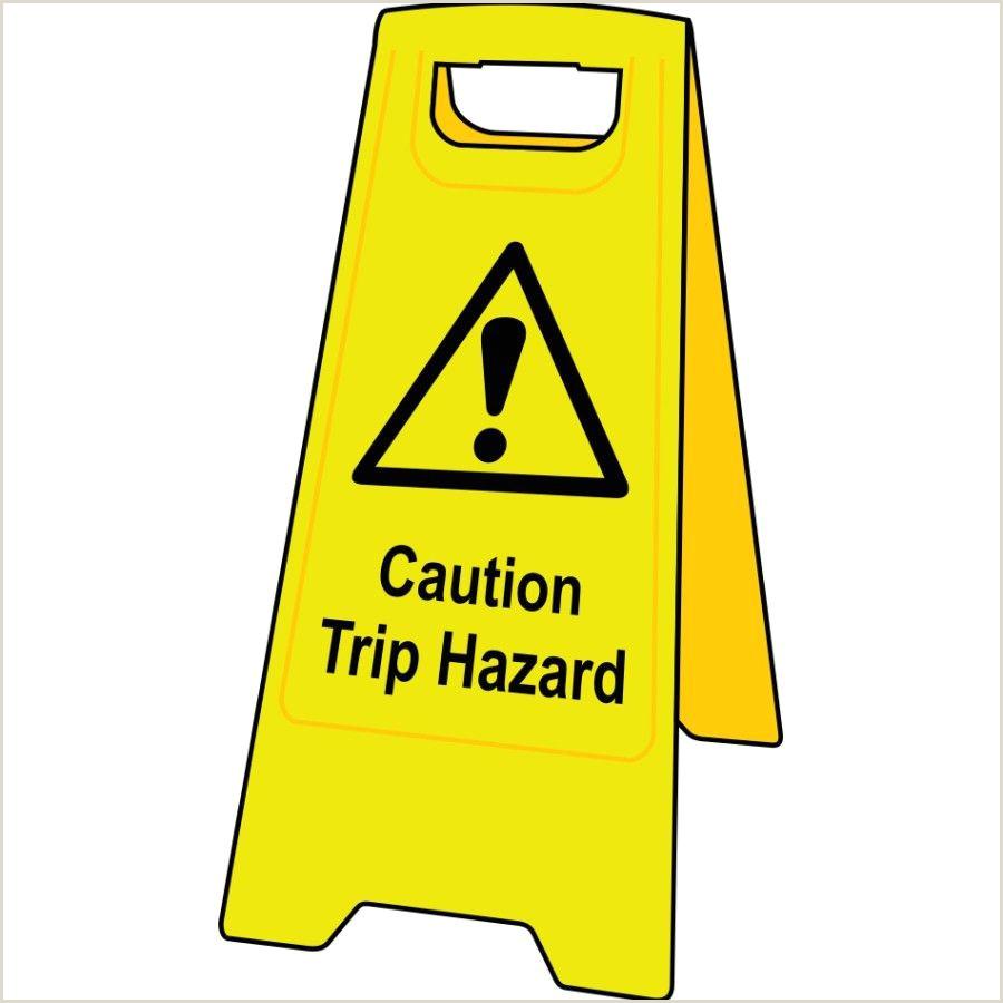 Floor Signs Stands Caution Trip Hazard Floor Sign Stand 4706