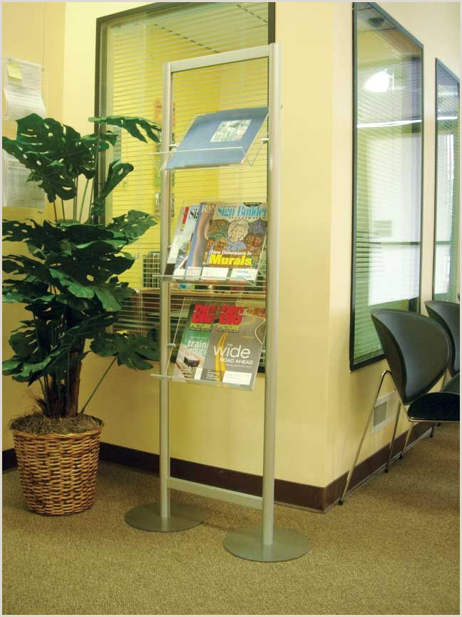 Floor Signs Stands Stack On Display Stands
